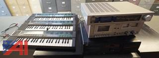6PC Group Keyboards & Audio Equipment