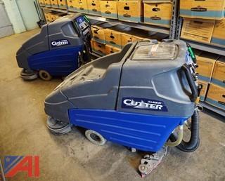 (2) Windsor Saber Cutter 24V Floor Scrubbers