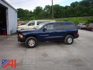 2001 Dodge Durango 4 Door SUV