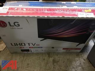 LG 49UH6030 4K UHD Smart LED TV