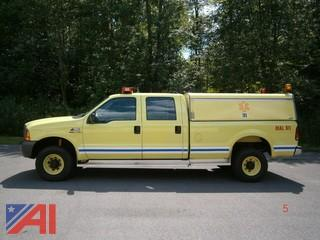 1999 Ford F350 Pickup with Utility Body