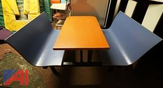 (7) Laminated Plymold Style Booths