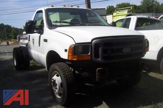2001 Ford F450 4x4 Chassis Cab
