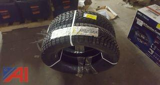 (2) Firestone Winter Force Tires