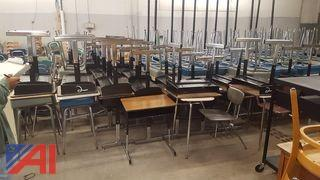 Approximately (144) Student Desks