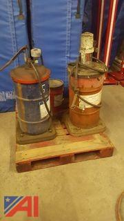 Gear Lubricant Tank & Pump and More