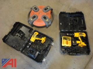 DeWalt Drills and Crew Portable Battery Charger