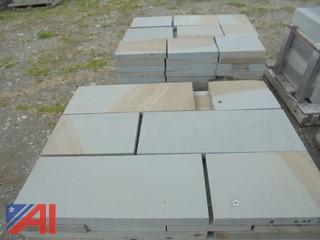 """(4)Pallets Thermal Bluestone 2"""" Thick 12"""" Asst."""