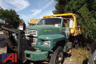 1991 Ford F800 Dump Truck