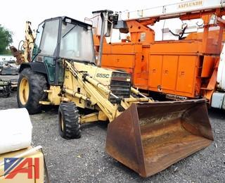 1991 Ford 655C 4 x 4 Backhoe