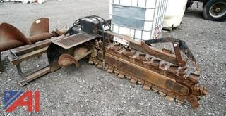 Lowe 21C Skid Steer Trencher Attachment