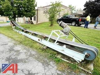 31' TWG Powered Incline Conveyor