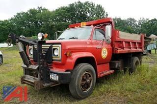 1983 Chevy C7D042 Dump Truck