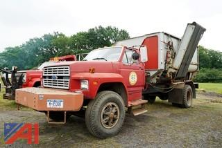 1985 Ford F800 Reel Auggie Mixer Truck