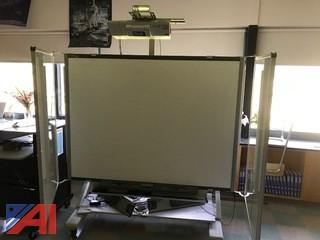 Portable Smart board with projector