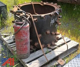 Asphalt Zipper & Fire Extingushier