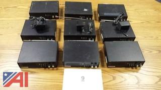 (6) Plectron Low Band Fire Alert Units