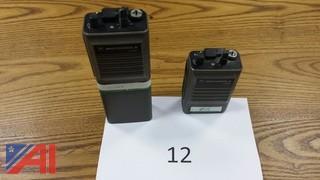 (2) Motorola MT1000 6Ch VHF Portables