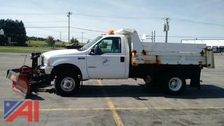 2004 Ford F350 Dump Truck with Plow