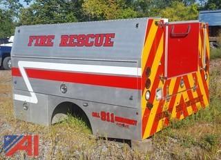 2010 Custom Built Service Utility Fire Truck Body
