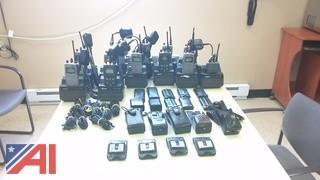 (12) MR/Com P5100 Portable Radios