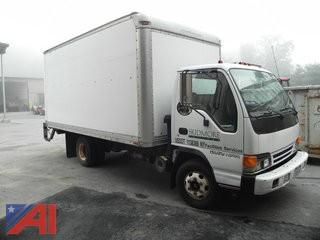 2000 Isuzu NPR Box Truck w/ Lift Gate