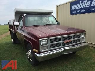 1984 GMC 3500 Chassis