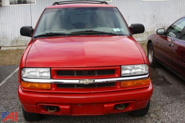 auctions international auction orange ulster boces 5034 updated item 2002 chevy blazer suburban auctions international
