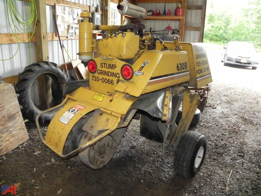 Vermeer 630b Stump Grinder Manual