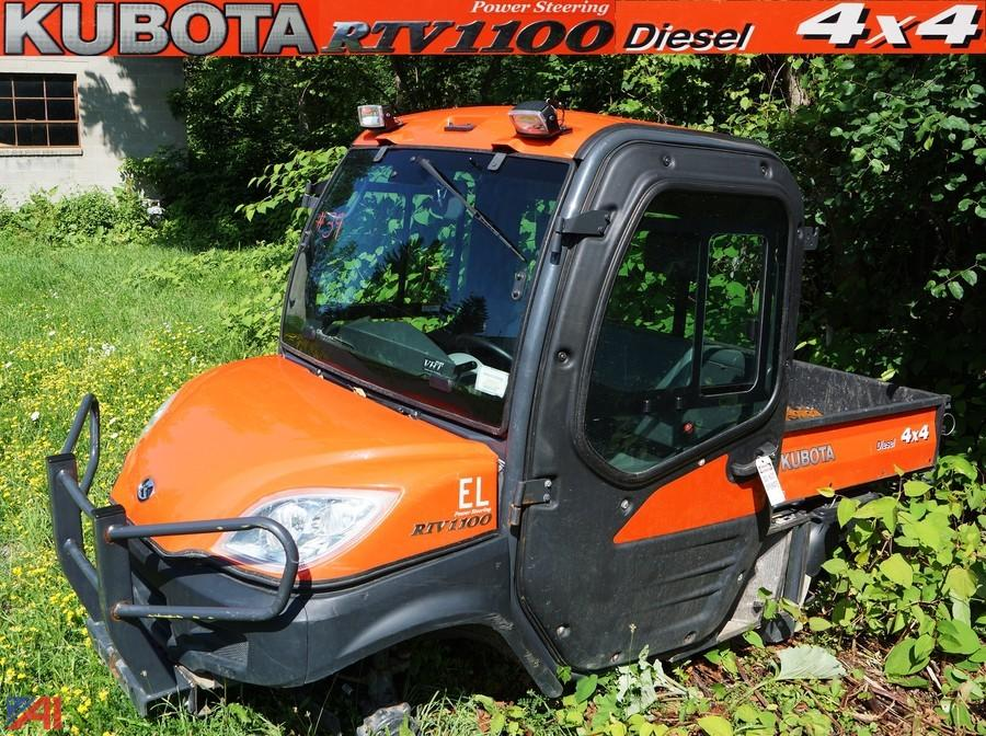 Kubota Rtv 1100 >> Auctions International Auction Erie County Surplus