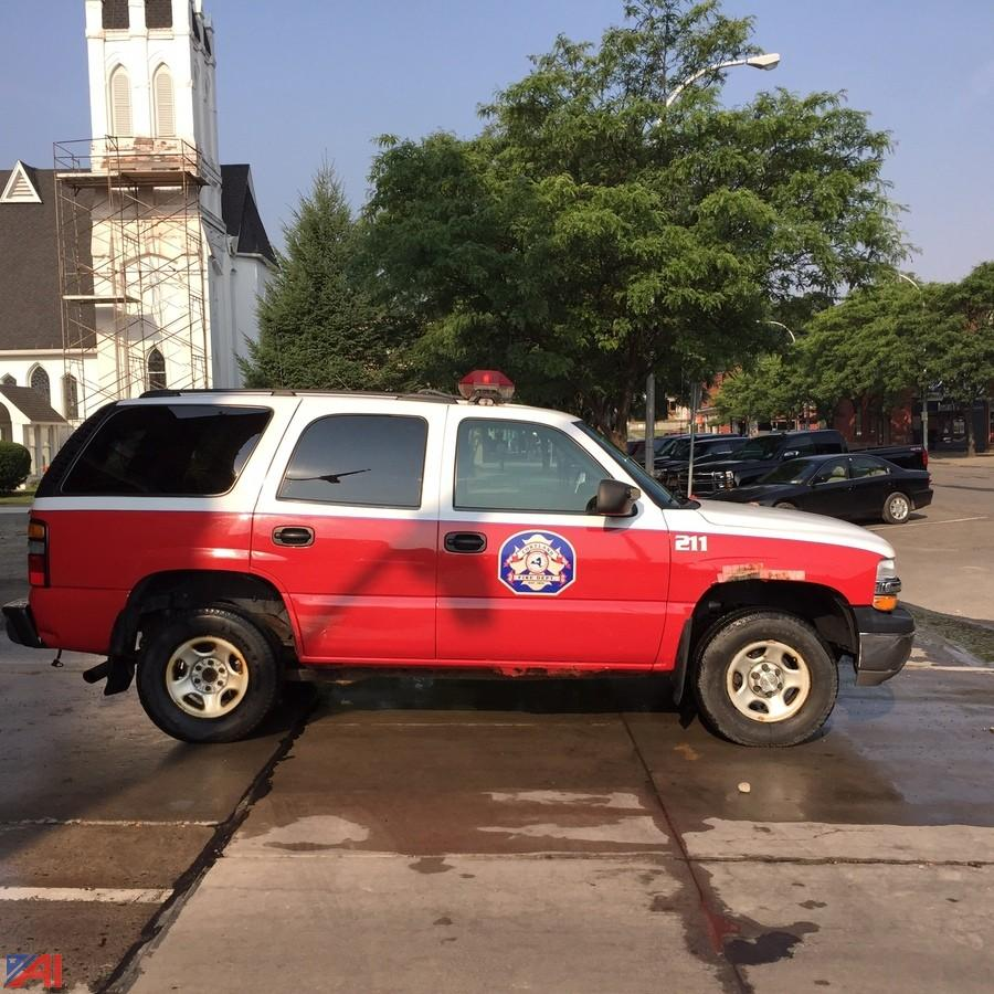 Auctions International - Auction: City of Cortland Fire #5893 ITEM ...