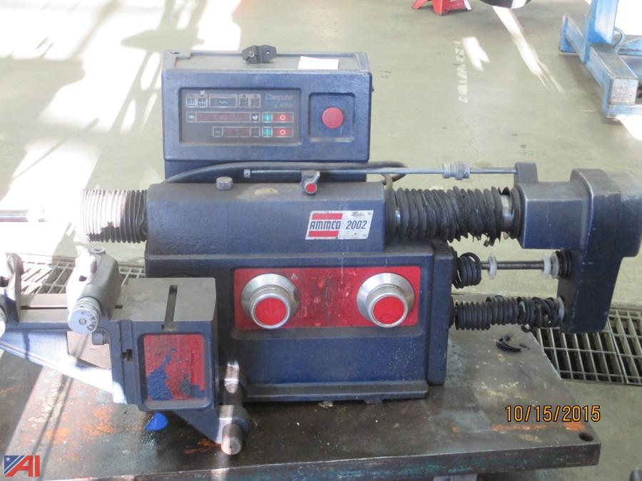 Ammco Brake Lathe >> Auctions International Auction Erie 1 Boces 6382 Lots Added