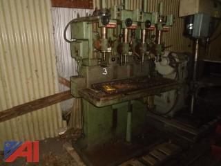 Edlund 4 Station Drill Press
