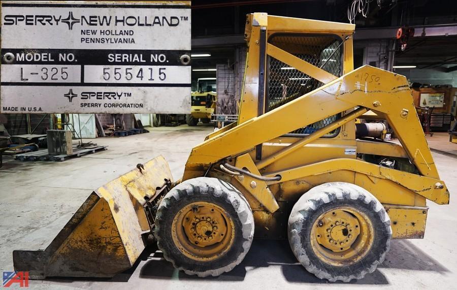 new holland skid steer serial number location