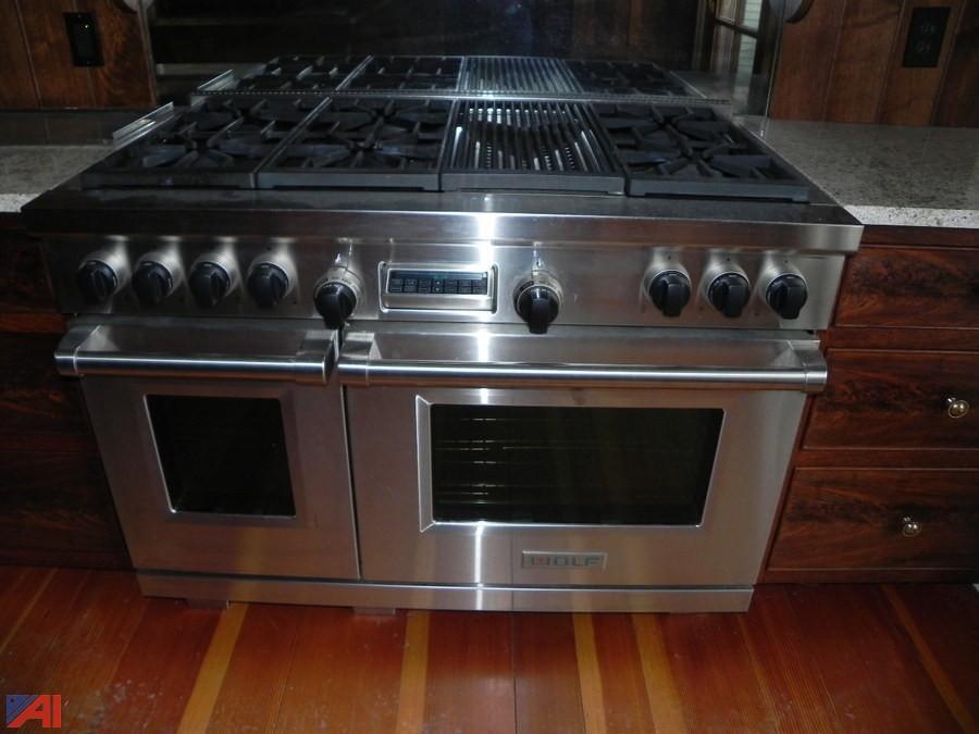Wolf DF486C Dual Fuel Kitchen Range**UPDATED**