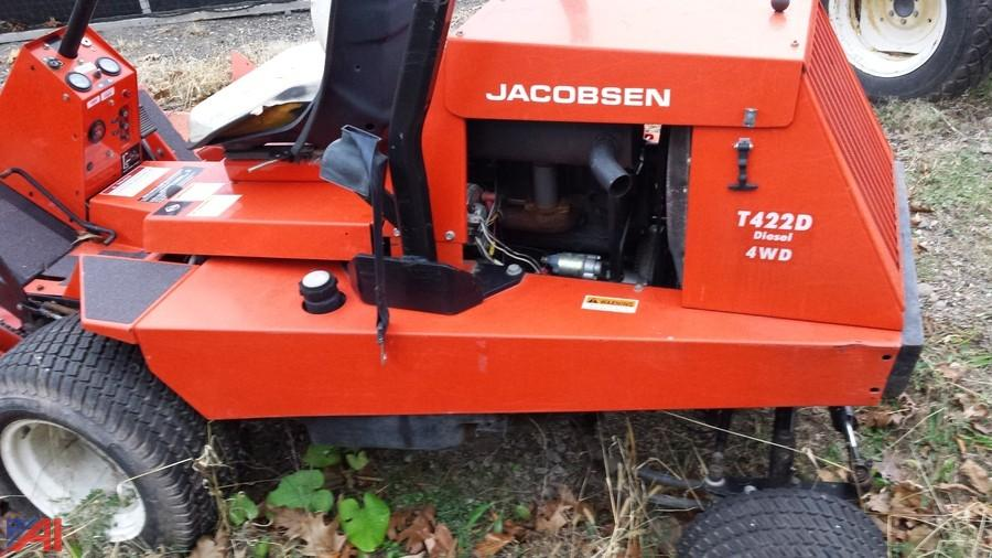 auctions international auction onteora csd 7812 board meeting 6 rh auctionsinternational com Jacobsen Turfcat Mower Deck Parts Jacobsen Turfcat Mower