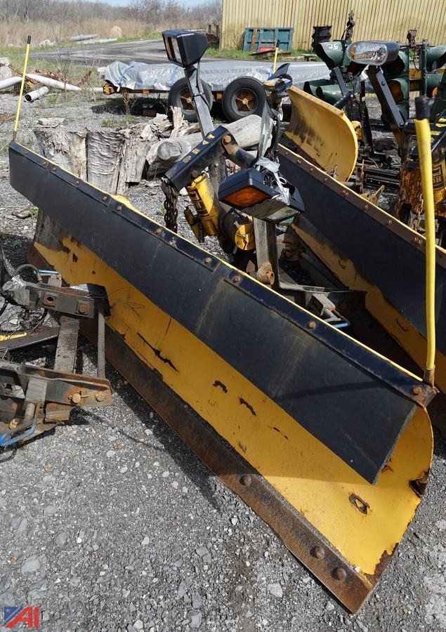 meyer snow plow hook up