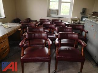 Lot of 13 Conference Room Chairs