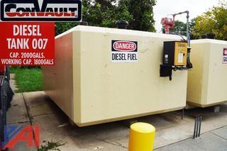 ConVault 2000 Gallon Above Ground Diesel Storage Tank