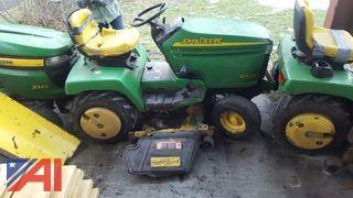 John Deere GX335 Riding Lawn Tractor