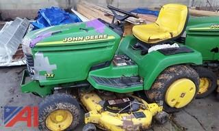 John Deere 335 Riding Lawn Mower