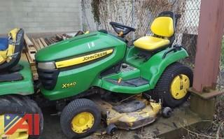 John Deere X540 Riding Lawn Tractor