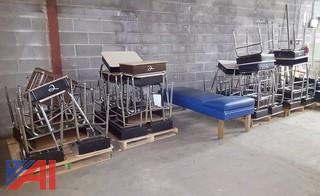 Students Desks, Chairs & Nurse Bed