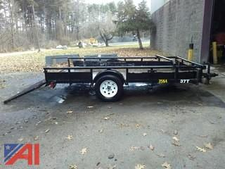 2007 Big Tex 12' Utility Trailer with Ramp