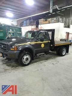 2005 Ford F450 Rack Body Truck