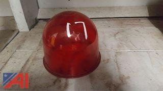 Red Glass Replacement Dome for Beacon Ray Light