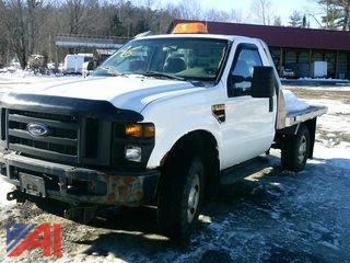 2008 Ford F350 SD XL Flatbed Pickup Truck