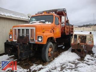 1999 International 2574 Series Dump Truck