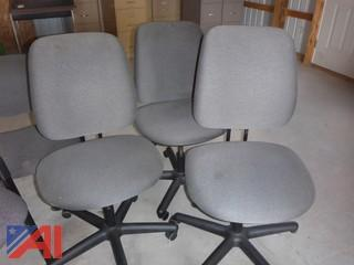 Blue/Gray Office Chairs