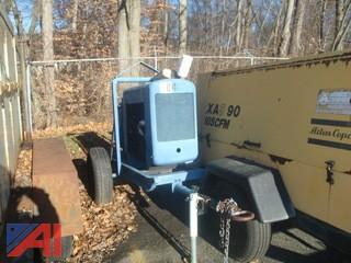 """Ford Drive 4"""" Pump on Trailer"""